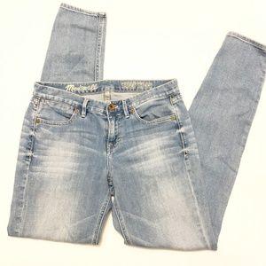 Madewell Light Wash Skinny Skinny Jeans